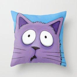 Did Someone Say Bath‽ Throw Pillow