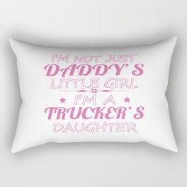 Trucker's Daughters Rectangular Pillow