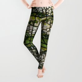 Louis Comfort Tiffany - Decorative stained glass 2. Leggings