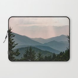 Smoky Mountain Pastel Sunset Laptop Sleeve