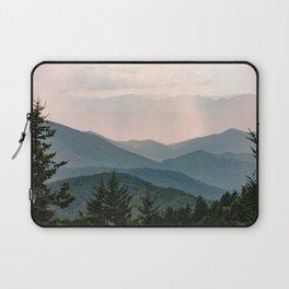 Smoky Mountain Pastel Sunset Laptop Sleeve