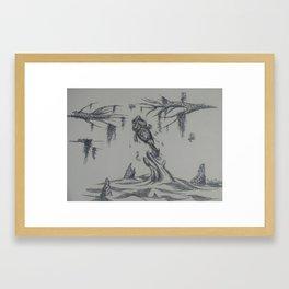 Southern Largemouth Bass Framed Art Print