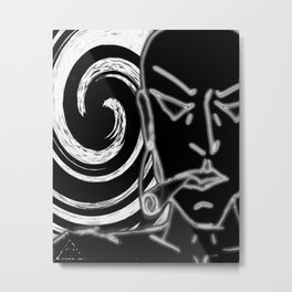 iDeal - Smoker Metal Print