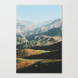 Layers of the Atlas Mountains, Africa Canvas Print