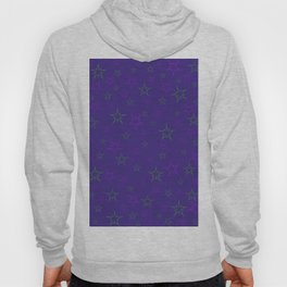 Purple Stars Hoody