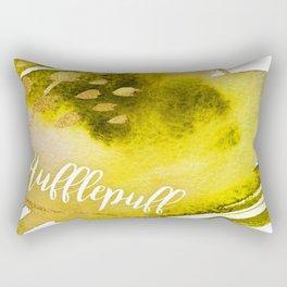 Hufflepuff Yellow Rectangular Pillow