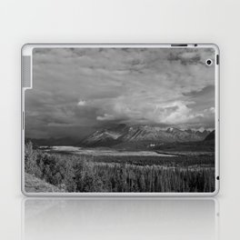 Matanuska Glacier Mono Laptop & iPad Skin