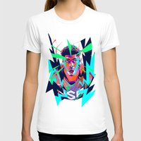 nba T-shirts featuring Anthony Davis Nba illu V3 by mergedvisible