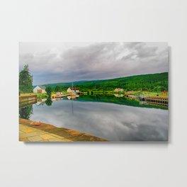 Caledonian Canal Fort Augustus Metal Print