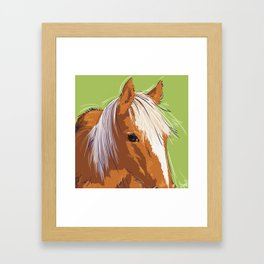Hay there! Framed Art Print