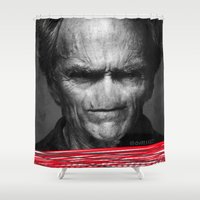 harry Shower Curtains featuring Harry by dvitt1027