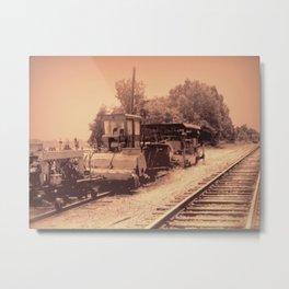 Old Railroad Relic II Metal Print
