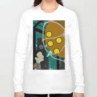 bioshock Long Sleeve T-shirts featuring Bioshock by Chandler Payne