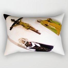 Virgins and Jesus. Rectangular Pillow