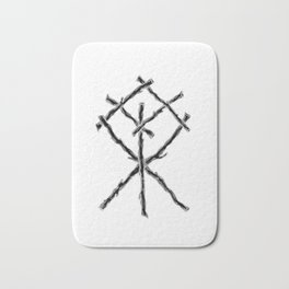 Rune Binding at Midnight Bath Mat