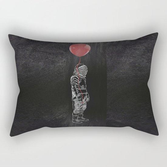 Balloon Astronaut Rectangular Pillow
