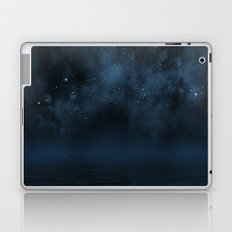 Universe & Ocean -   Space - Night Sky - Stars - Ocean - Night Laptop & iPad Skin