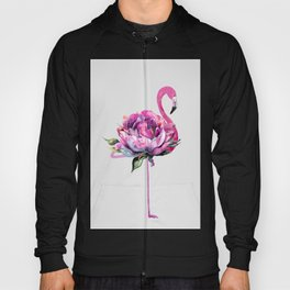 Flower Flamingo Hoody