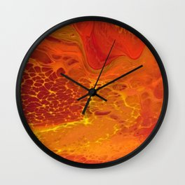 """Dragon's Lair"" by Laurie Ann Hunter Wall Clock"