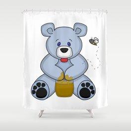 Hunny Bear Shower Curtain