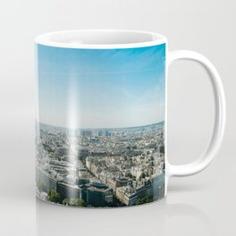 Paris France and Eiffel Tower by day time Coffee Mug