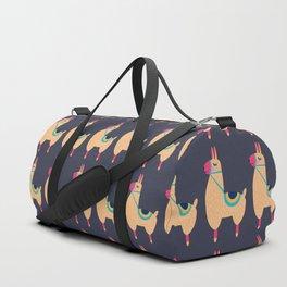 Yellow Lama Duffle Bag