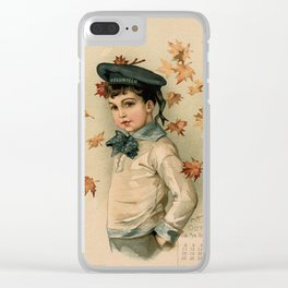 American Boy Maud Humphrey 1891 Clear iPhone Case