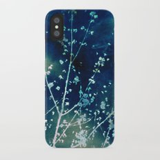 Scattered Spring Cyanatope Slim Case iPhone X