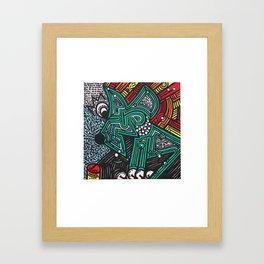 RECALCULANDO / RECALCULATING Framed Art Print