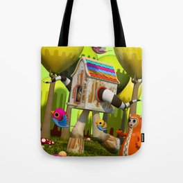 The Fugitive Tote Bag
