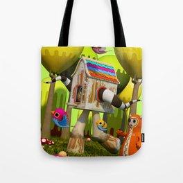 The Fugitive Tote Bag