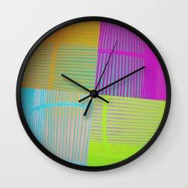 Di-simetrías Color Wall Clock