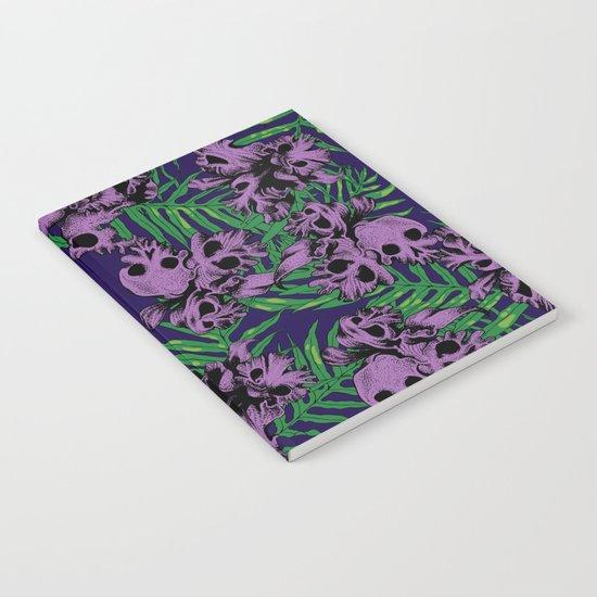Orchid Skulls Notebook