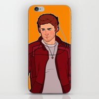 star lord iPhone & iPod Skins featuring Star-Lord Dean by rdjpwns