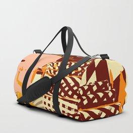 ORANGE TEA SPILL Duffle Bag