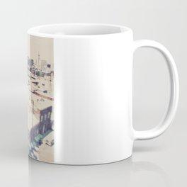 Urth Caffe. Los Angeles skyline photograph Coffee Mug