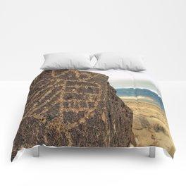 High Desert Petroglyphs Comforters