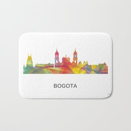 Bogata Colombia Skyline Bath Mat