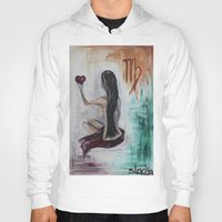 virgo Hoodies featuring Virgo by sladja