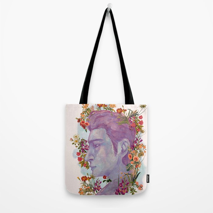 STURDMAN WITH FLOWER DECORATION Tote Bag