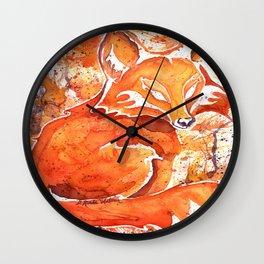 Fox (Spirit of the...) Wall Clock