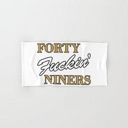 Forty Niners Hand & Bath Towel