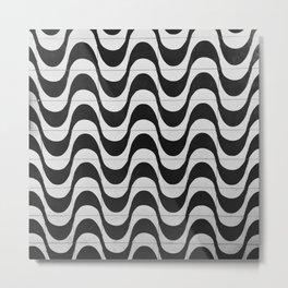 Rio Tile Pattern Metal Print