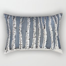 White book Rectangular Pillow