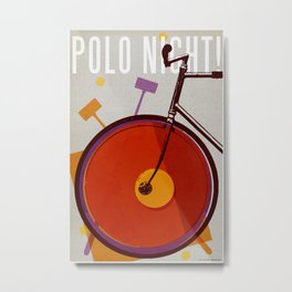 Polo Night! | Polo Metal Print
