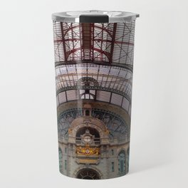 Antwerp Central Train Station Travel Mug