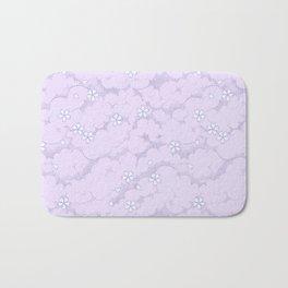 Kumori Nochi Sakura: Purple Bath Mat