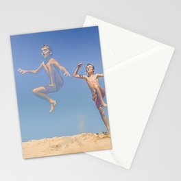 Jump ! Stationery Cards