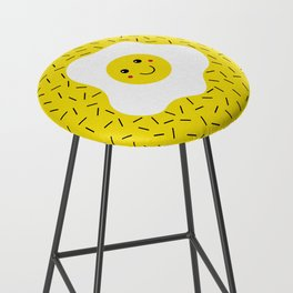 Eggs emoji Bar Stool
