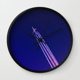Sky Voyager - Landscape Photography Wall Clock
